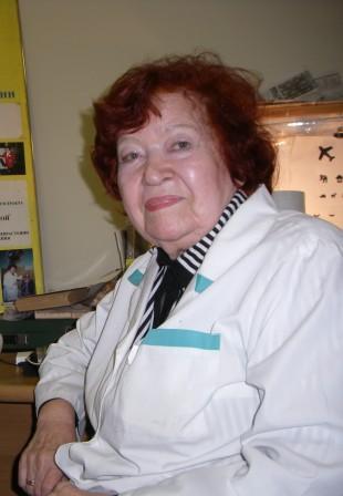 Татьяна Прохоровна Тетерина, офтальмолог, доктор медицинских наук, профессор, академик